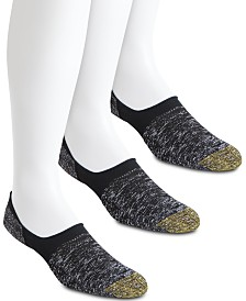 Gold Toe Men's 3-Pk. Marled Tab Socks
