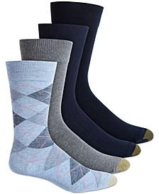 Argyle Dress Socks 4-Pack