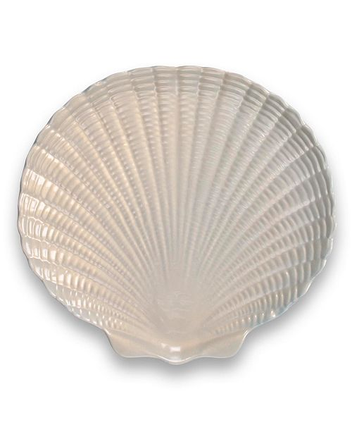 TarHong Coral Reef Figural Shell Platter