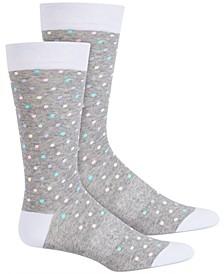 Men's Mini Dot Socks, Created for Macy's