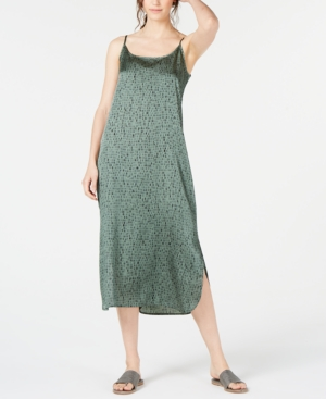 Eileen Fisher Dresses ORGANIC PRINTED CAMI DRESS