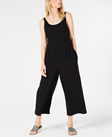 Eileen Fisher Wide-Leg Jumpsuit, Regular & Petite