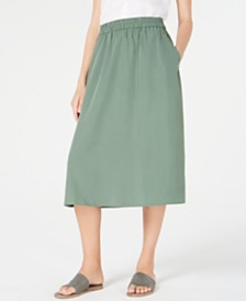 Eileen Fisher Tencel® Midi Skirt