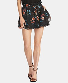 Bellarosa Ruffled Floral-Print Shorts