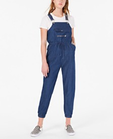 Dollhouse Juniors' Soft Jean Overalls