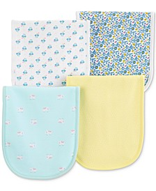 Baby Girls 4-Pack Burp Cloths