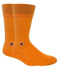 Men's Solid Socks - Navy