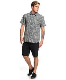 Quiksilver Minimal Flower Short Sleeve Shirt