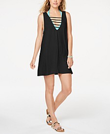 Juniors' Lattice Cover-Up Dress, Created for Macy's