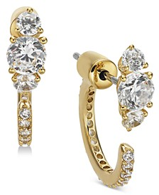 Crystal Front & Back Earrings, Created for Macy's