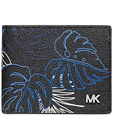 Men's Jet Set Printed Slim Wallet