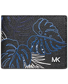Michael Kors Men's Jet Set Printed Slim Wallet
