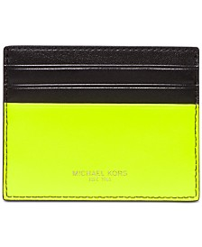 Michael Kors Men's Henry Colorblocked Card Case