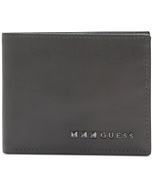 GUESS Men's Traveler RFID Leather Wallet