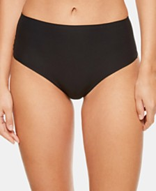 Chantelle Women's Soft Stretch One Size Seamless Hi Waist Thong 1069, Online Only