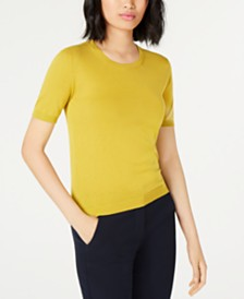 Weekend Max Mara Corte Ribbed-Trim Sweater
