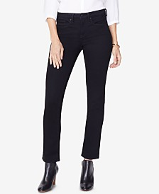 NYDJ Sheri Slim Straight-Leg Jeans