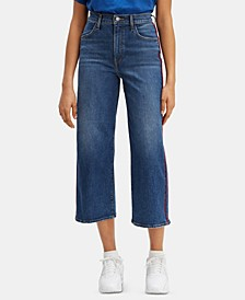 Mile High Cropped Wide-Leg Jeans
