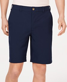 "Club Room Men's 4-Way Stretch 9"" Eco-Tech Shorts, Created for Macy's"