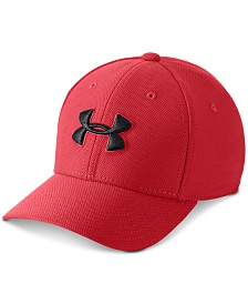 Under Armour Big Boys Blitzing 3.0 Stretch Logo Cap