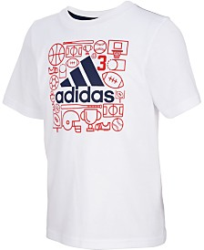 adidas Little Boys Logo T-Shirt