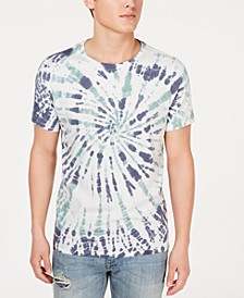 Men's Spiral Tie-Dyed T-Shirt