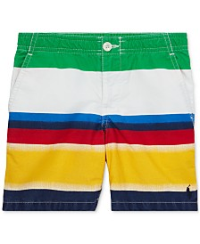 Polo Ralph Lauren Little Boys Straight-Fit Polo Prepster Cotton Shorts
