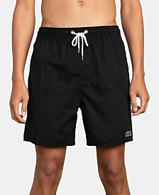 "RVCA Men's Tom Gerrard Embroidered 17"" Board Shorts"