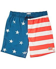 "Men's Sundays Layback 18"" Swim Trunks"