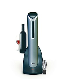 Pro Electric Wine Bottle Opener with Pourer, Stopper and Foil Cutter