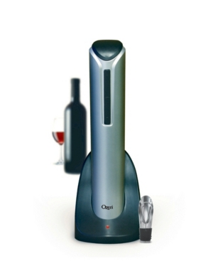 Ozeri Pro Electric Wine Bottle Opener with Pourer, Stopper and Foil Cutter