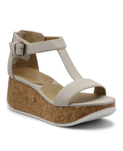 Adrienne Vittadini Chaps Platform Wedge Sandal