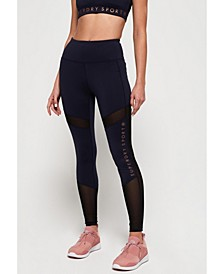 Active Studio Mesh Leggings