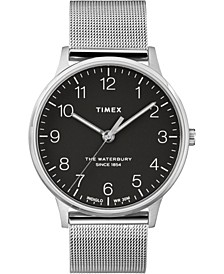 Timex Waterbury Classic 40mm Stainless Steel Mesh Band Watch