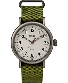 Timex Standard 40mm Fabric Strap Watch
