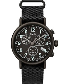 Timex Standard Chronograph 41mm Fabric Strap Watch