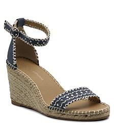 Charming Espadrille Wedge Sandal