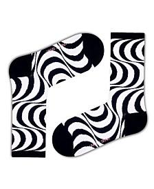 Love Sock Company Women's Socks - Hypnotic Lines