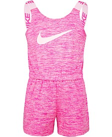 Nike Little Girls Dri-FIT Cross-Dye Sports Romper