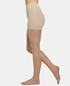 The Easy On Luxe Ultra-Nude Open-Toe Pantyhose Sheers 4265
