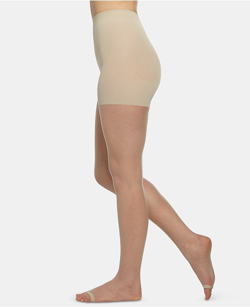 Berkshire The Easy On Luxe Ultra-Nude Open-Toe Pantyhose Sheers 4265