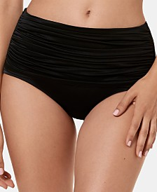 Miraclesuit Solid Norma Jean High-Waist Bottoms