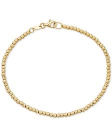 Beaded Bracelet in 14k Gold