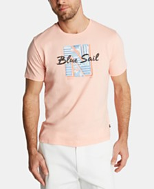 Nautica Men's Blue Sail Graphic T-Shirt, Created for Macy's