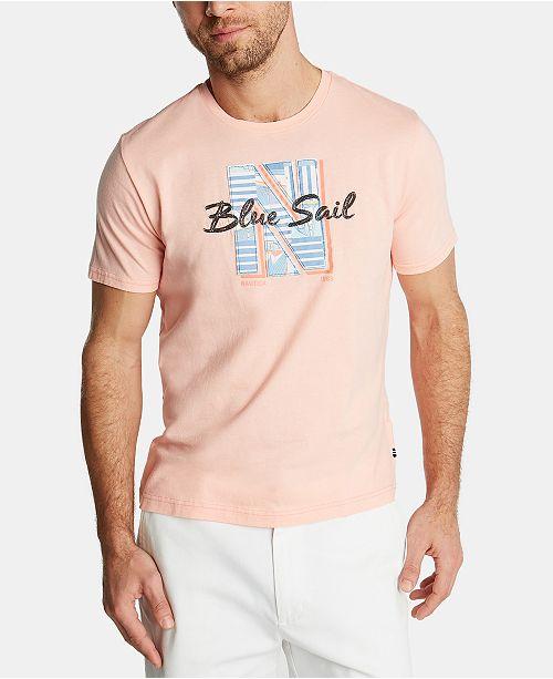 Nautica Men's Blue Sail Graphic T-Shirt, Created for Macy's