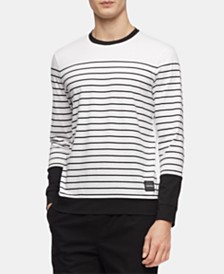 Calvin Klein Men's Stripe Sweatshirt