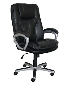 Serta Big and Tall Executive Office Chair, Quick Ship