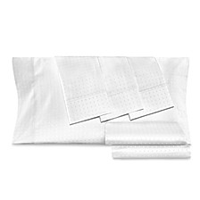 Dobby Dot 6-Pc Queen Sheet Set, 1000 Thread Count Cotton Blend