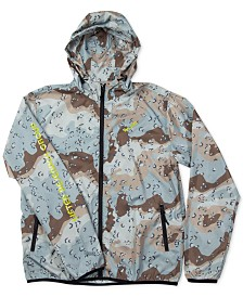 LRG Men's Desert Camo-Print Windbreaker