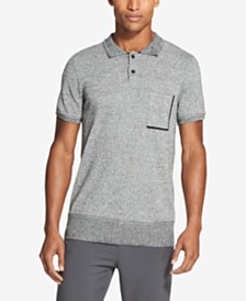 DKNY Men's Marled Polo
